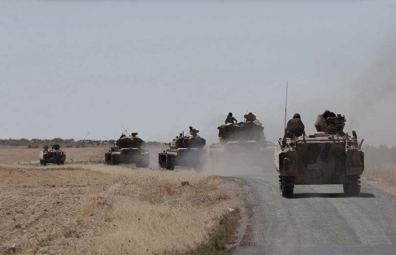 турски военен бил убит минометно нападение пкк северен ирак
