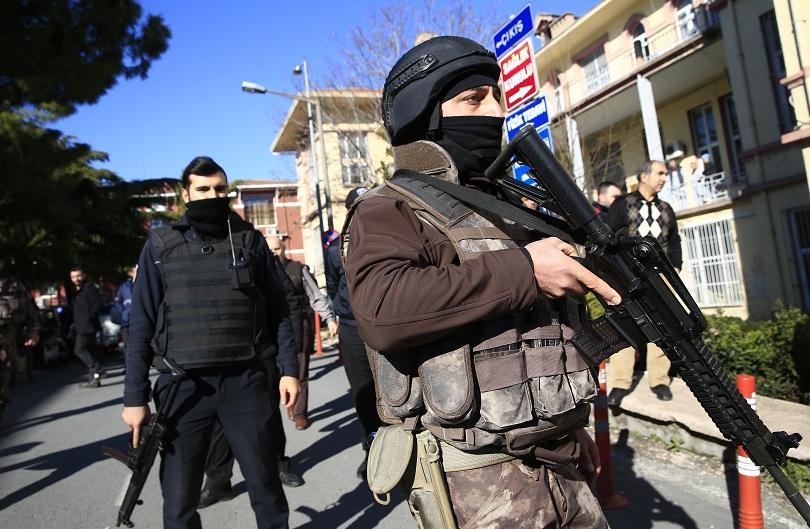 турската полиция задържа души подозрения връзка ислямска държава