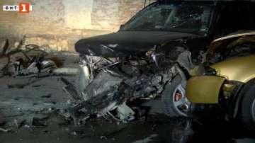 19-годишен шофьор помете две коли в горнооряховското село Драганово (ВИДЕО)