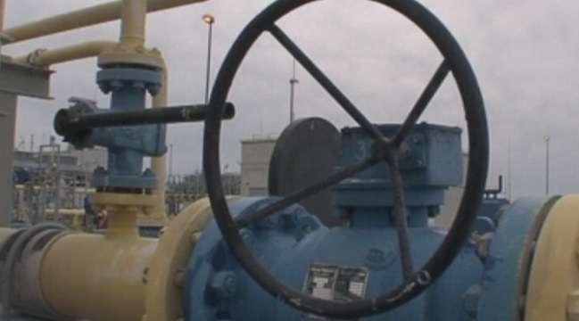 Първата линия на морския газопровод