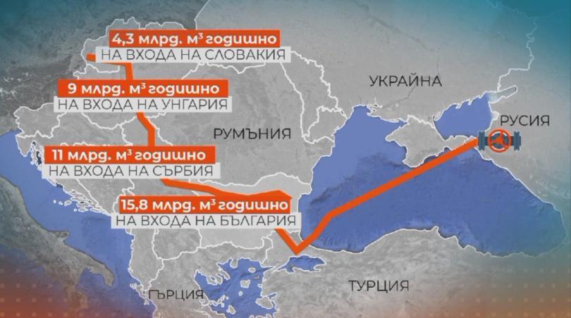 снимка 1 Нашият участък от Турски поток трябва да влезе в експлоатация до края на 2020г