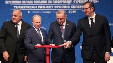 Откриха газопровода Турски поток