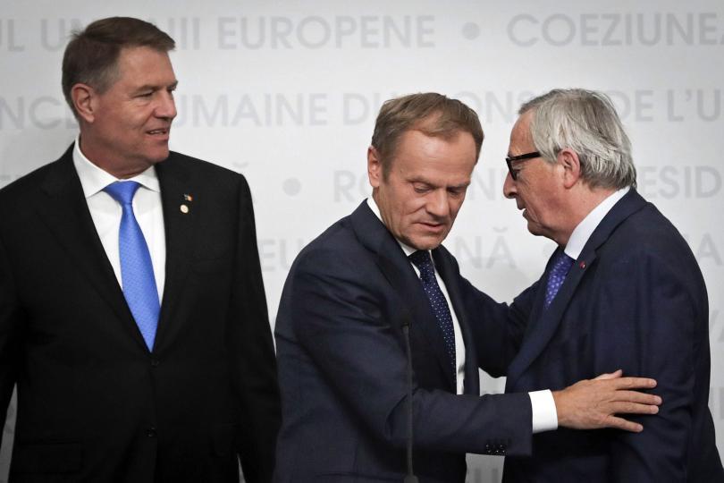 снимка 1 Европейските лидери обсъдиха в Сибиу предизвикателствата и приоритетите на ЕС