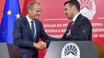Туск призова ЕС да подкрепи преговори за членство с Албания и Северна Македония