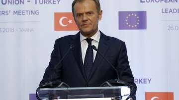 Доналд Туск: По темата за бежанците оставаме изключителни партньори с Турция
