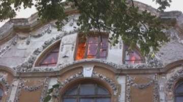 Ексклузивни кадри минути след подпалването на тютюневите складове в Пловдив