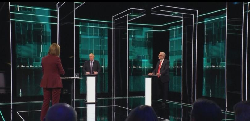Снимка: Първи телевизионен дебат преди изборите във Великобритания