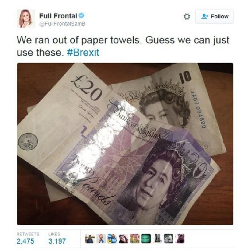 снимка 5 Twitter се присмя на Brexit