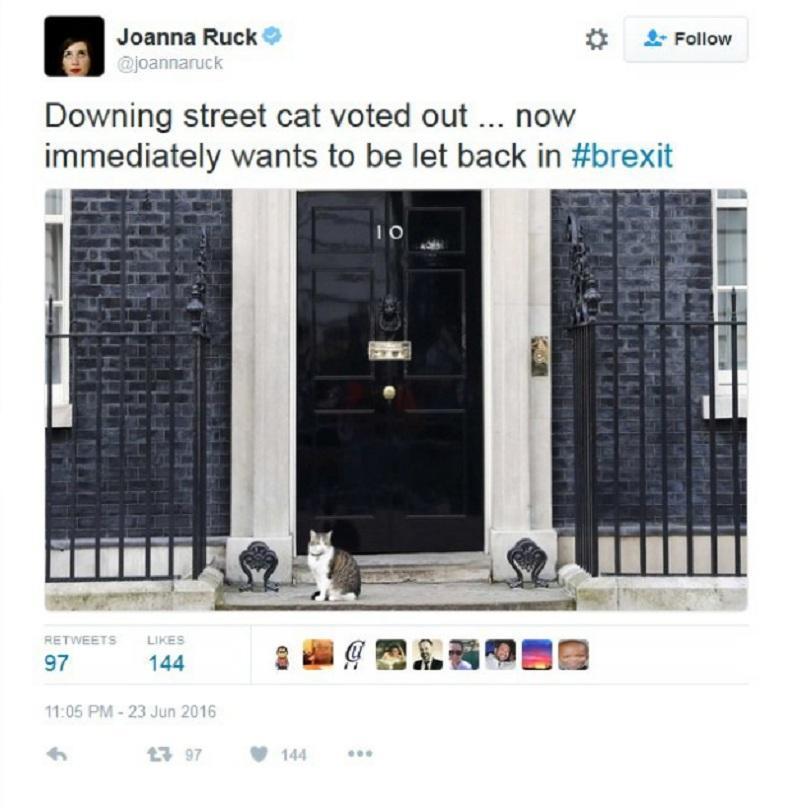 снимка 7 Twitter се присмя на Brexit
