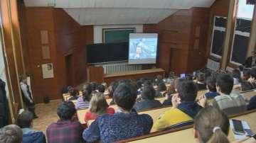 Ученици от НПМГ с виртуална разходка из ЦЕРН