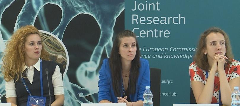 Осем млади български учени посетиха Съвместния изследователски център на Европейската