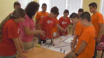 Ученици от Видин спечелиха национално състезание по  роботика