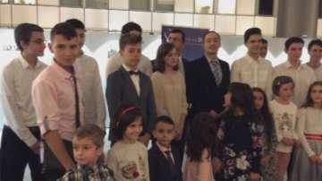 Български ученици отбелязаха Деня на народните будители в Европарламента