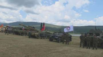 Военно учение в Ново село