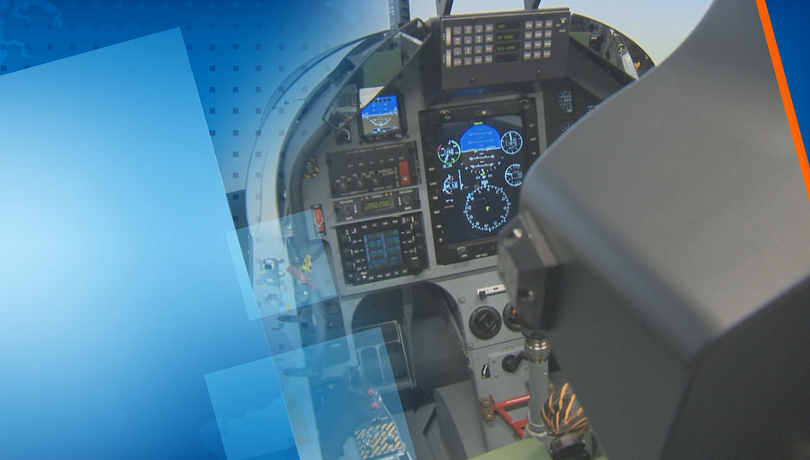 Нов тренажорен комплекс ще подобри уменията на военните ни пилоти.