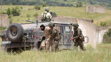 Учение на сухопътни войски от България, САЩ, Северна Македония, Гърция и Албания