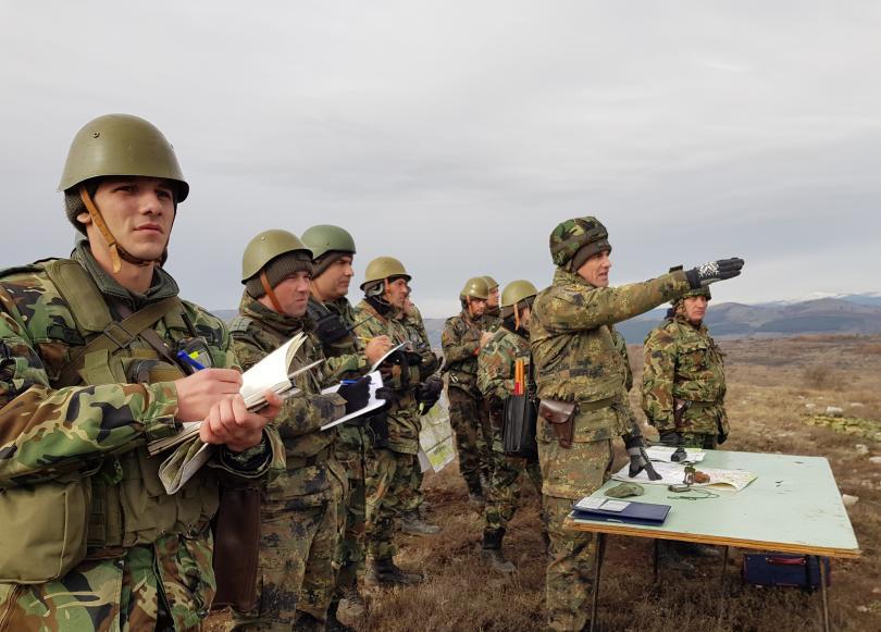 "Батальонно тактическо учение ""Вратица 2019"" се проведе от 2 до"