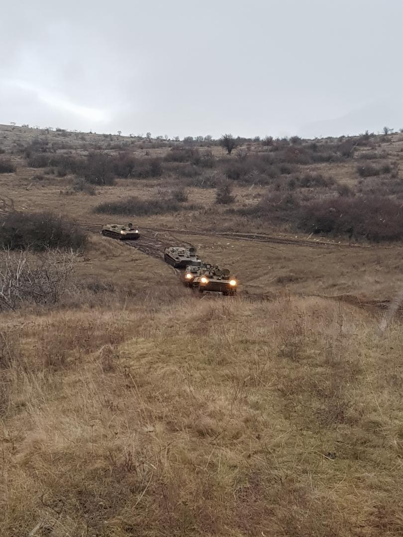 """снимка 1 Батальонно тактическо учение """"Вратица 2019"""" се проведе на полигона Сливница"""