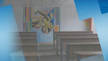Необикновени рисунки по стените на училище в Костенец