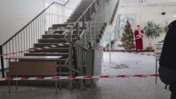 Евакуираха училище в Кърджали заради пропукана мазилка