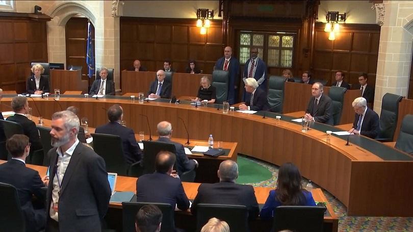 върховният съд борис джонсън суспендирал парламента незаконно