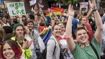 Марш на равенството в подкрепа на украинските сексуални малцинства