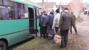 Киев и Донбас си размениха пленници