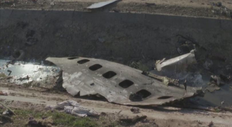 иран изпраща черните кутии сваления самолет украйна