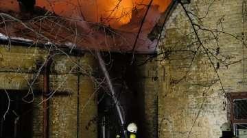 Шестима души загинаха при пожар в психиатрична клиника в Украйна