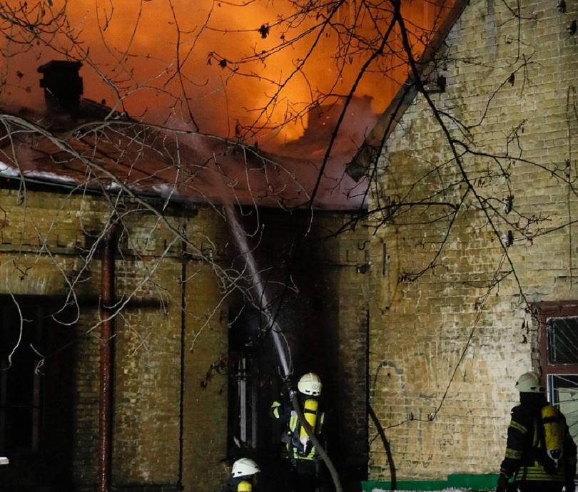 шестима души загинаха пожар психиатрична клиника украйна