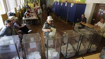 Избирателната активност на вота в Украйна е 34% към 16 ч