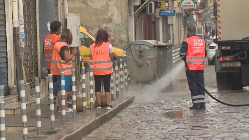 снимка 1 Столичен инспекторат: До момента всички улици в София са измити по два пъти