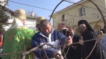 Българските градинари в Унгария почитат Свети Трифон