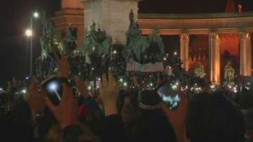 Протести в Унгария срещу корупцията