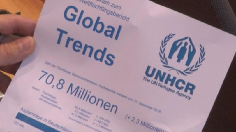 Все повече хора по света бягат от родните си места