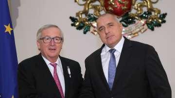 Жан-Клод Юнкер поздрави Борисов за бързото разкриване на убийството в Русе