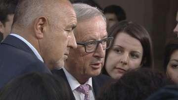 Юнкер: България ще получи първоначално 108 милиона евро за охрана на границите