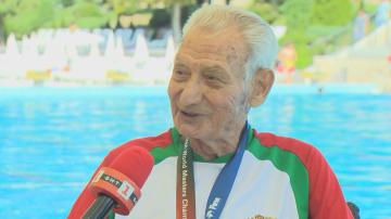 Специално пред БНТ: 91-годишната световна сензация в спорта Танчо Тенев