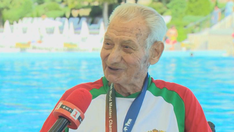 91-годишният Танчо Тенев триумфира с две титли на Световното първенство