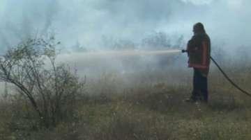 Потушен е пожарът край Хасково, засегнал 9000 дка