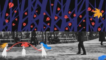 3D мапинг шоу в Деня на София