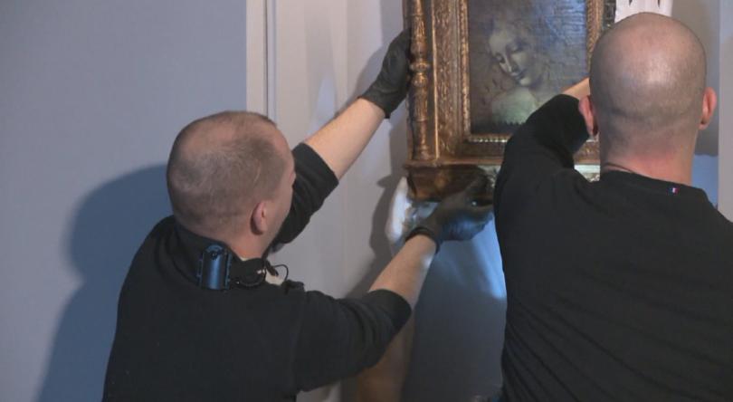 След месеци преговори, най-мащабната изложба, посветена на Леонардо да Винчи,