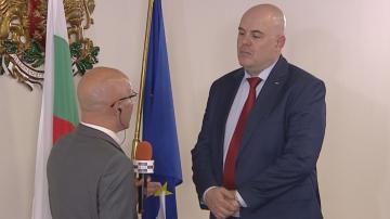 Първо телевизионно интервю на Иван Гешев след избора му за главен прокурор
