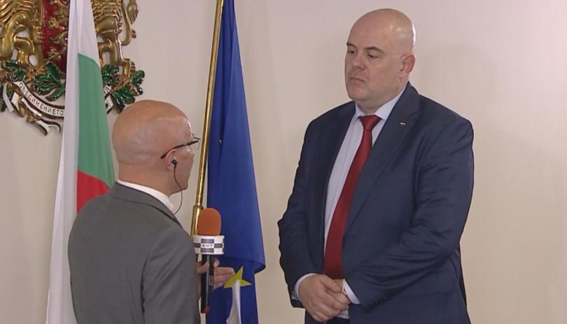 Резултат с изображение за Първо телевизионно интервю на Иван Гешев след избора му за главен прокурор