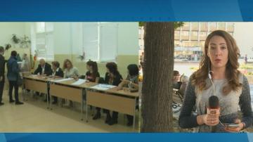 За около 20 минути беше прекратено гласуването в село Рилци