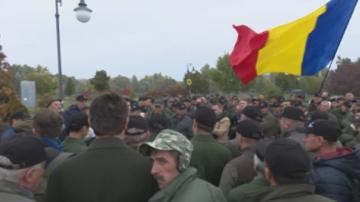 Румънски горски пазачи излязоха на протест