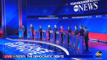 Дебат на претендентите на демократите за кандидат-президент на САЩ