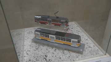Регионалният исторически музей показва макети на първите трамваи
