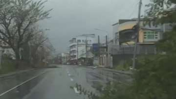 Първа жертва на урагана във Филипините