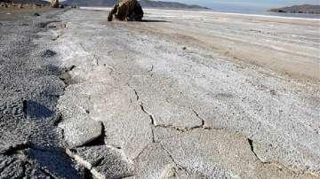 Езерото Урмия в Иран почти е пресъхнало